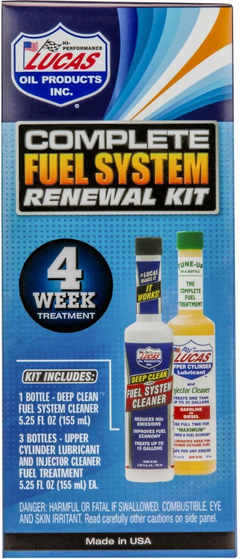 Lucas Oil 10966 Complete Fuel System Rene