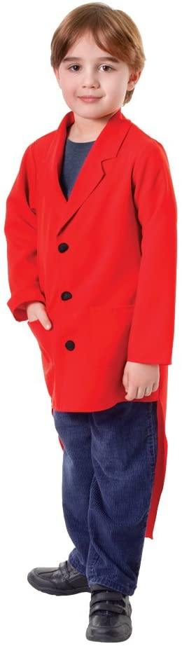 Bristol Novelty Tailcoat, Red (L) Childs Age 7 - 9 Years