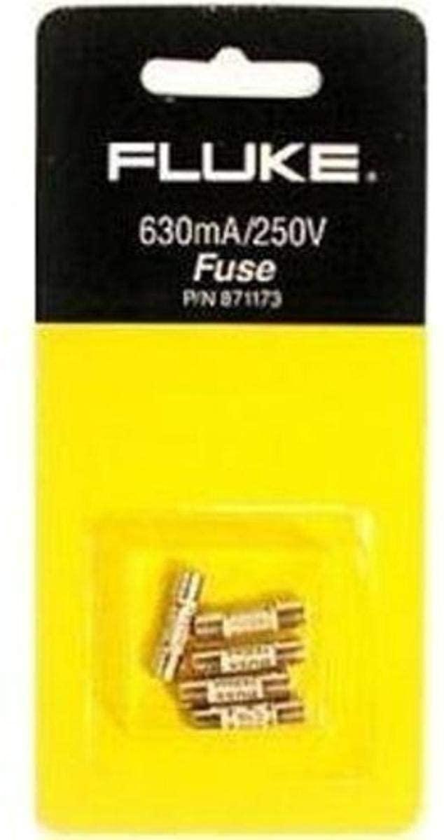 Fluke 871173 630-mA 250-Volt fuse,White,Small