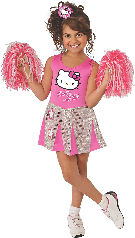 Rubies Hello Kitty Cheerleader Costume, Toddler Size