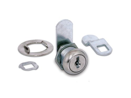 Hudson Lock ULR-1375STD-203-0000 Replacement Cam Lock, Keyed Alike to ES203, 1 3/8