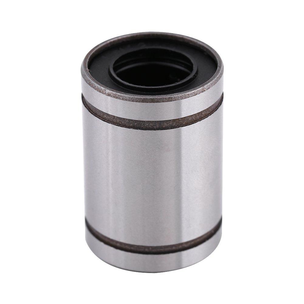 10pcs 12mm LM12UU Linear Motion Ball Bearing Bushing for 12mm Rod 3D Printer CNC Parts