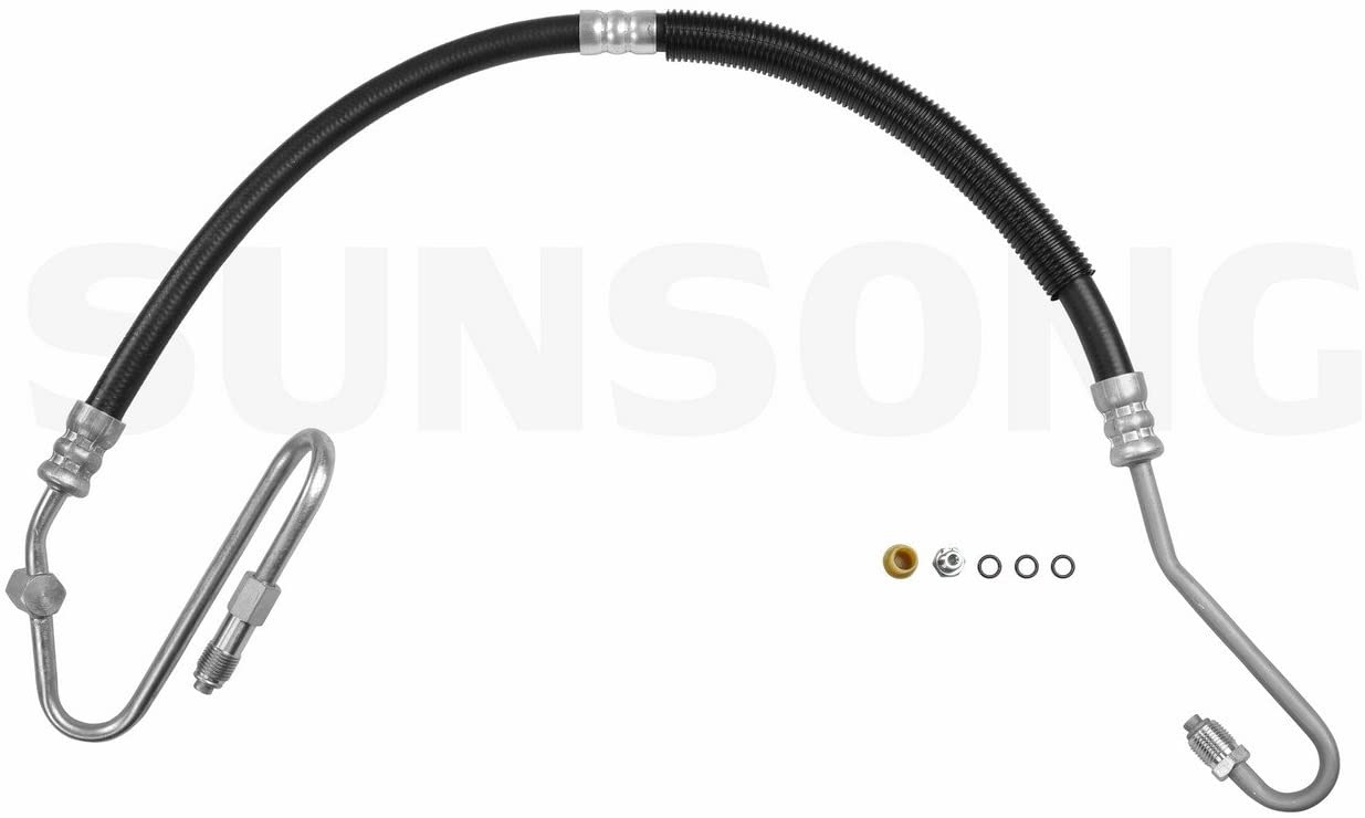 Sunsong 3401070 Power Steering Pressure Line Hose Assembly