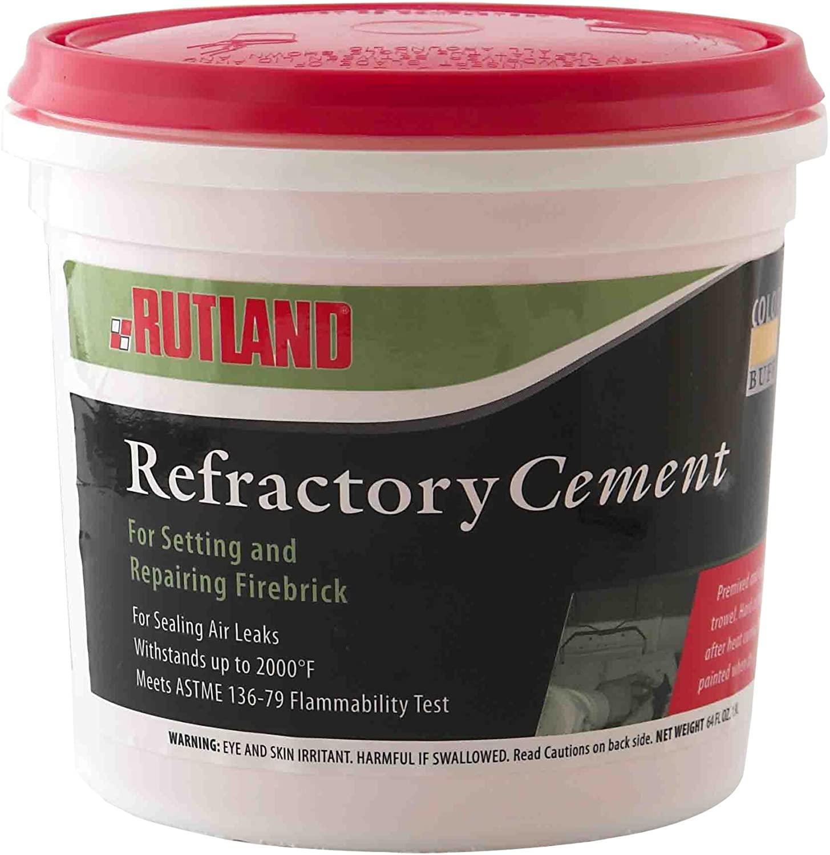 Rutland 610 Refractory Cement, 64 Fl Oz