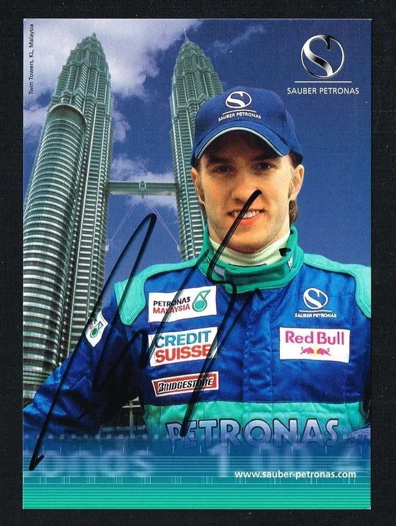 Nick Heidfeld signed autograph auto 4x6 Small Photo / Postcard