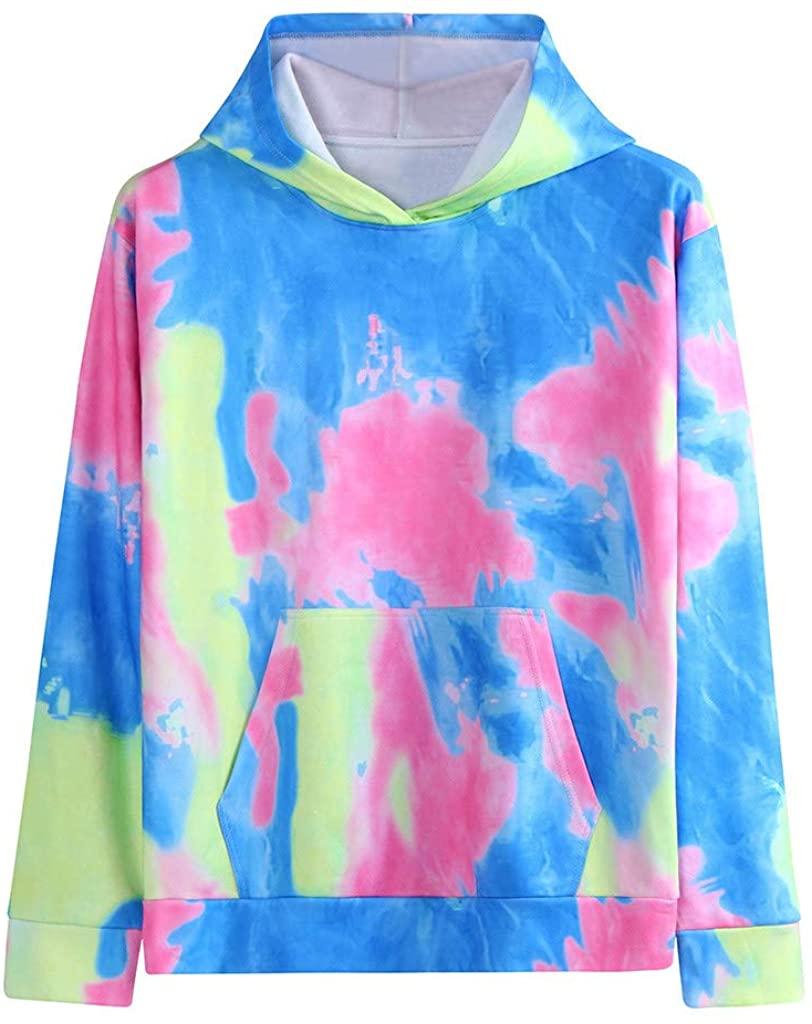 Letdown_Men Hoodies Men Hooded Sweatshirts Fashionable Personality Autumn and Winter Tie-dye Hoodie Lover Top Blouse