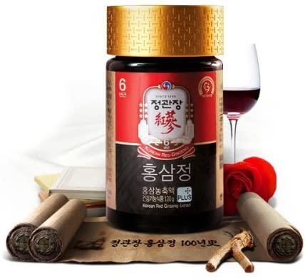 KGC Cheong Kwan Jang Korean Red Ginseng Extract Plus 120g (4.23oz) by Cheong Kwan Jang
