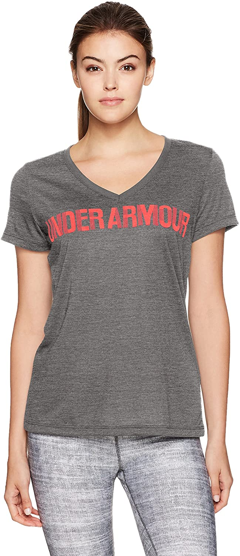 Under Armor Women's Threadborne Graphic V-Neck