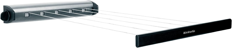 Brabantia Pull Retractable Indoor Washing Line, Stainless Steel
