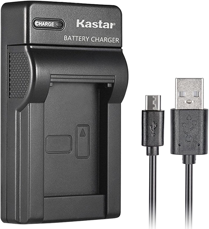 Kastar Slim USB Charger for Canon NB-12L, NB12L, CB-2LG and Canon PowerShot G1 X Mark II, Canon PowerShot N100, Canon VIXIA Mini X, LEGRIA Mini X Digital Camera