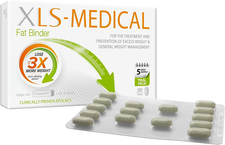 XLS Medical Fat Binder (30 Tablets)