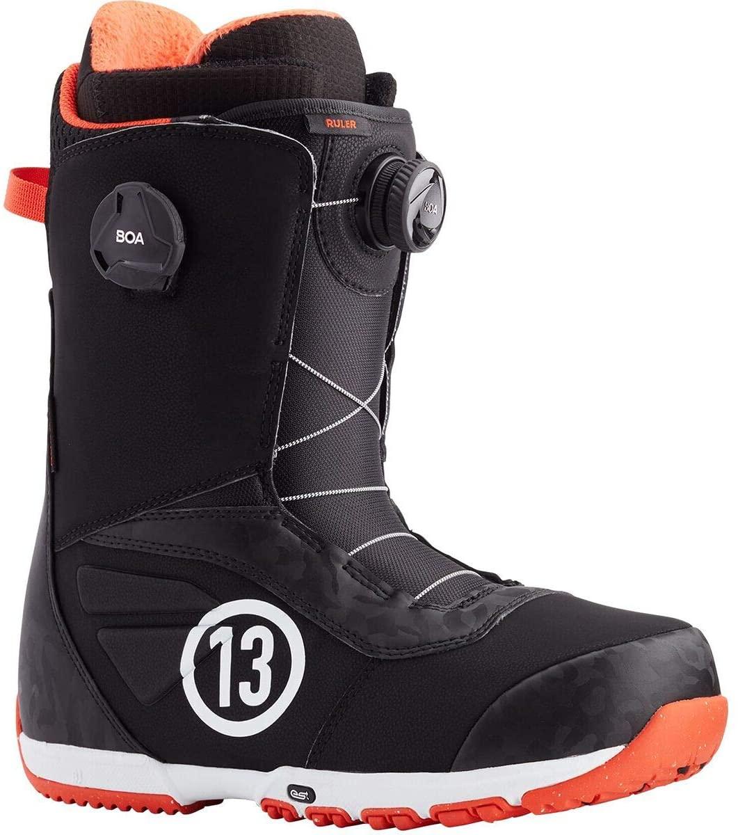 Burton Ruler Boa Snowboard Boot - Men's Black/Red, 9.5