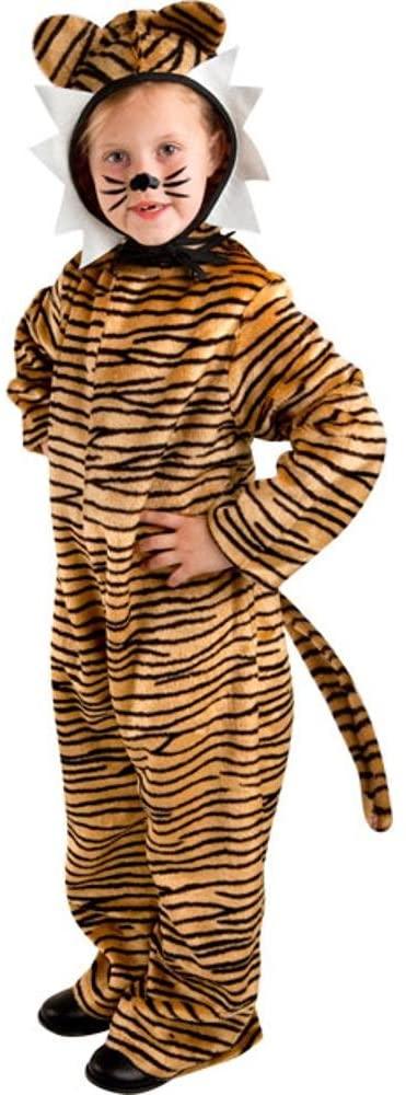 Kid's Animal Tiger Costume (Size:X-small 4-6)
