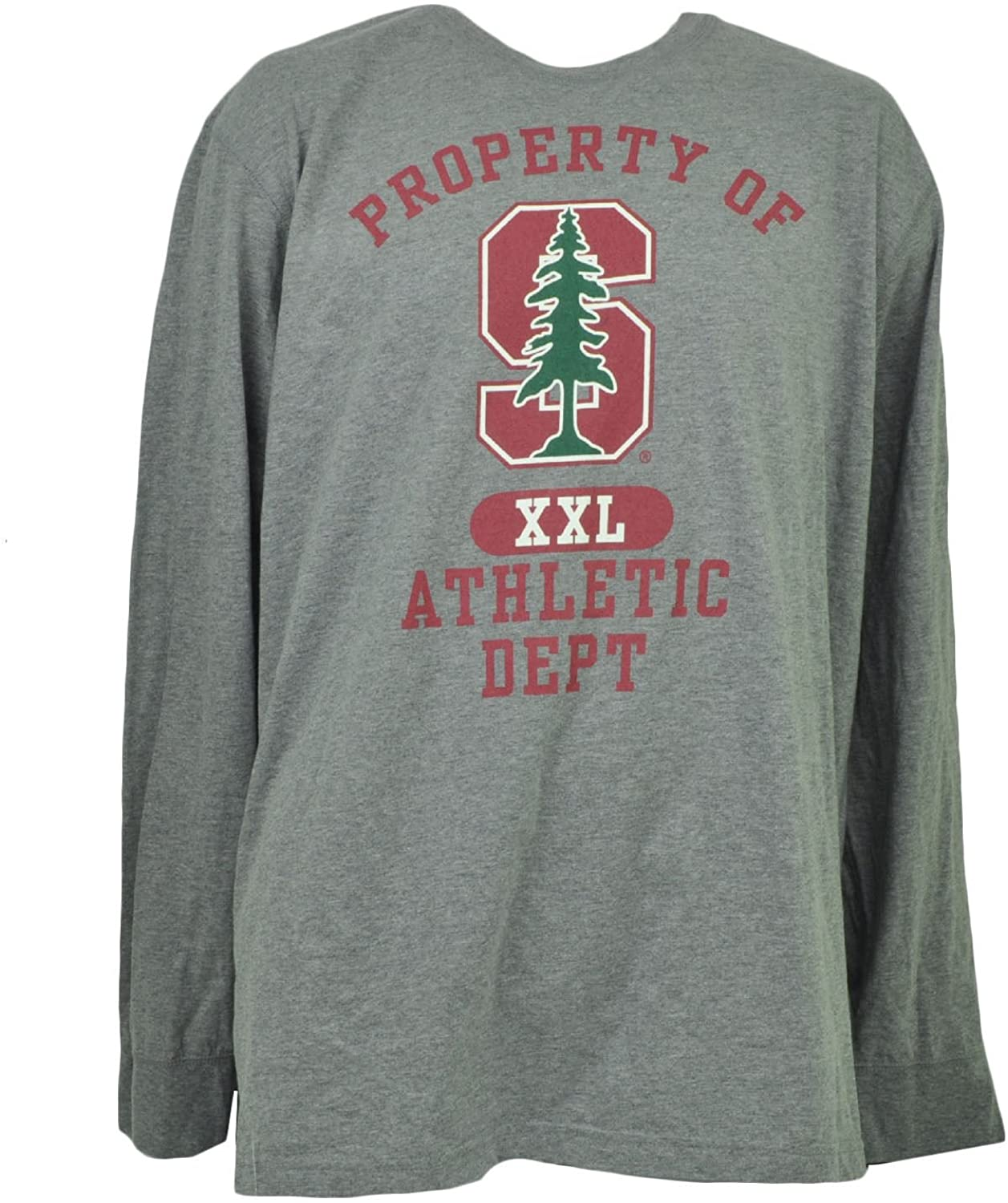 Stanford Cardinal Adult X-Large XL Long Sleeve Gray