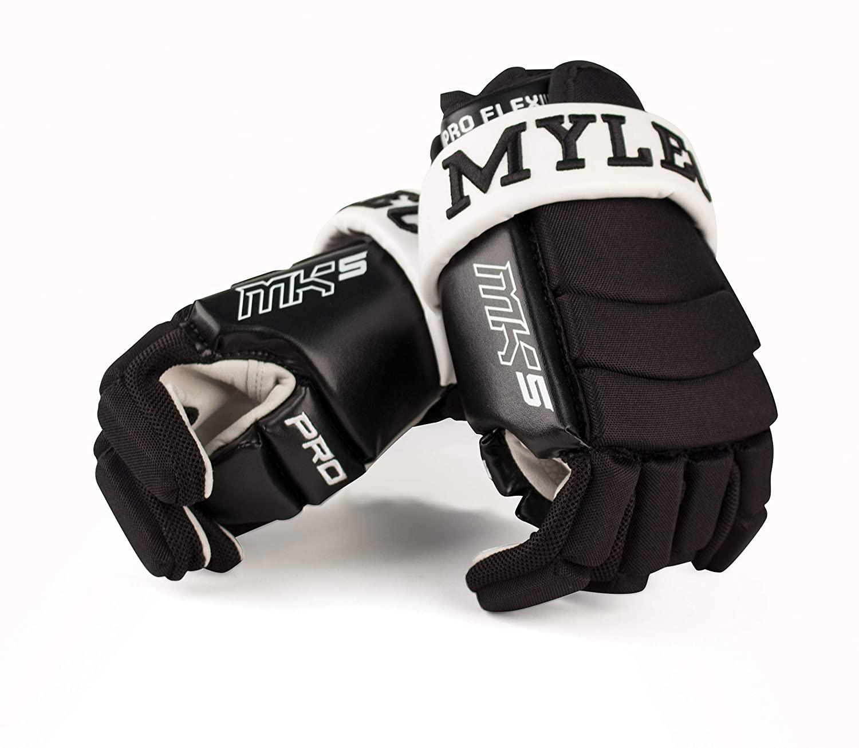 Mylec Inc Mk5 Medium 3-Roll Pro Player Hockey Gloves (493)