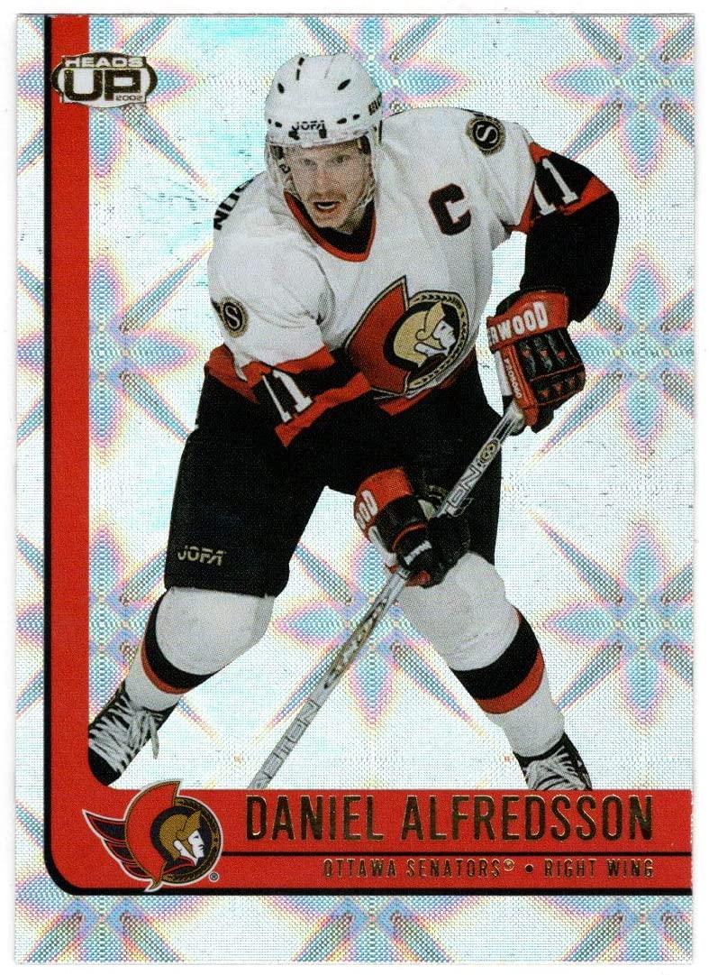 Daniel Alfredsson - Ottawa Senators (Hockey Card) 2001-02 Pacific Heads Up # 67 Mint