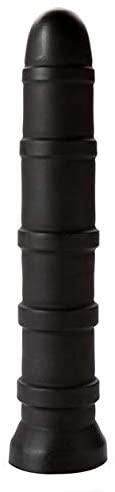 Tantus Adult Toys - Cisco - Ultra-Premium Silicone Anal Butt Plug - Black - Firm & Flexible