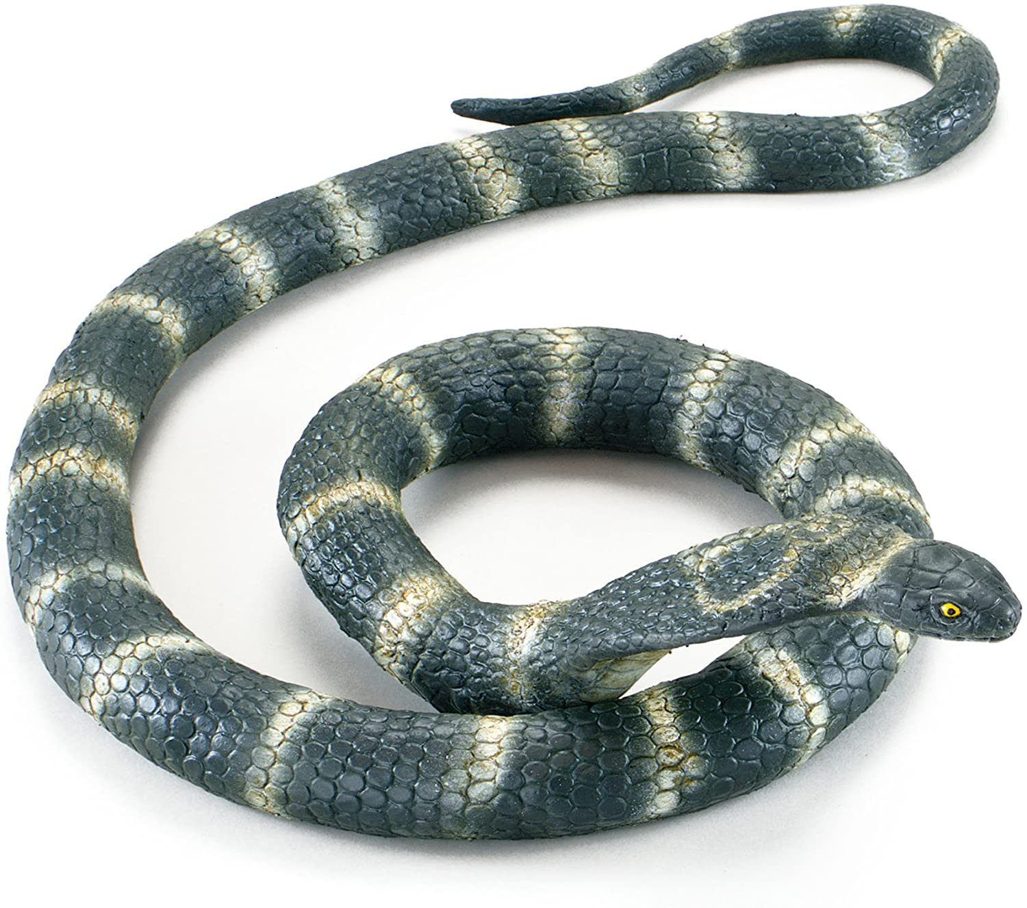 Bristol Novelty AK039 Cobra Snake Rubber Bendable Prop
