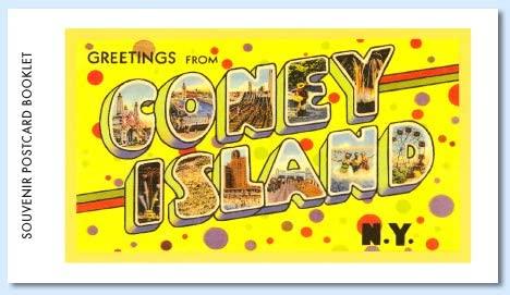 Coney Island Postcard Booklet