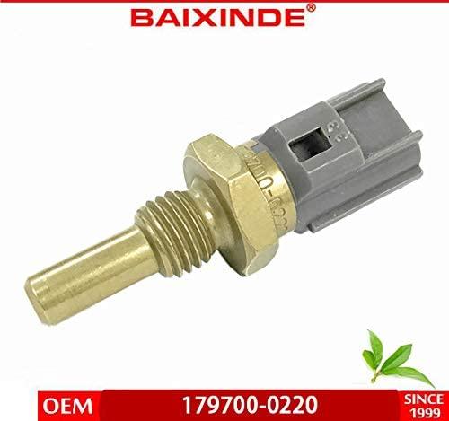 BAIXINDE Engine Coolant Temperature Sensor 179700-0220 89422-2010 for Chevrolet Ford GEO