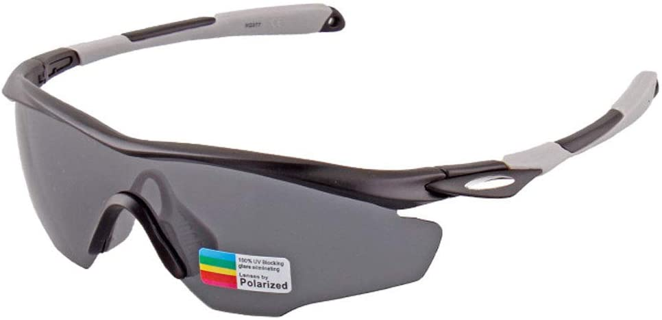 GUO XINFEN Polarized Glasses Riding Glasses for Men and Women Outdoor Sports Windproof Bicycle Glasses (Color : Silver)