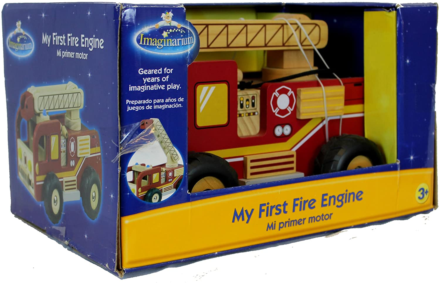 My First Fire Engine Wooden Imaginarium Firetruck