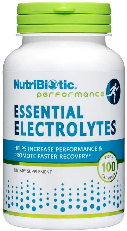 Nutribiotic Essential Electrolytes, 100 Caps, 100 Count
