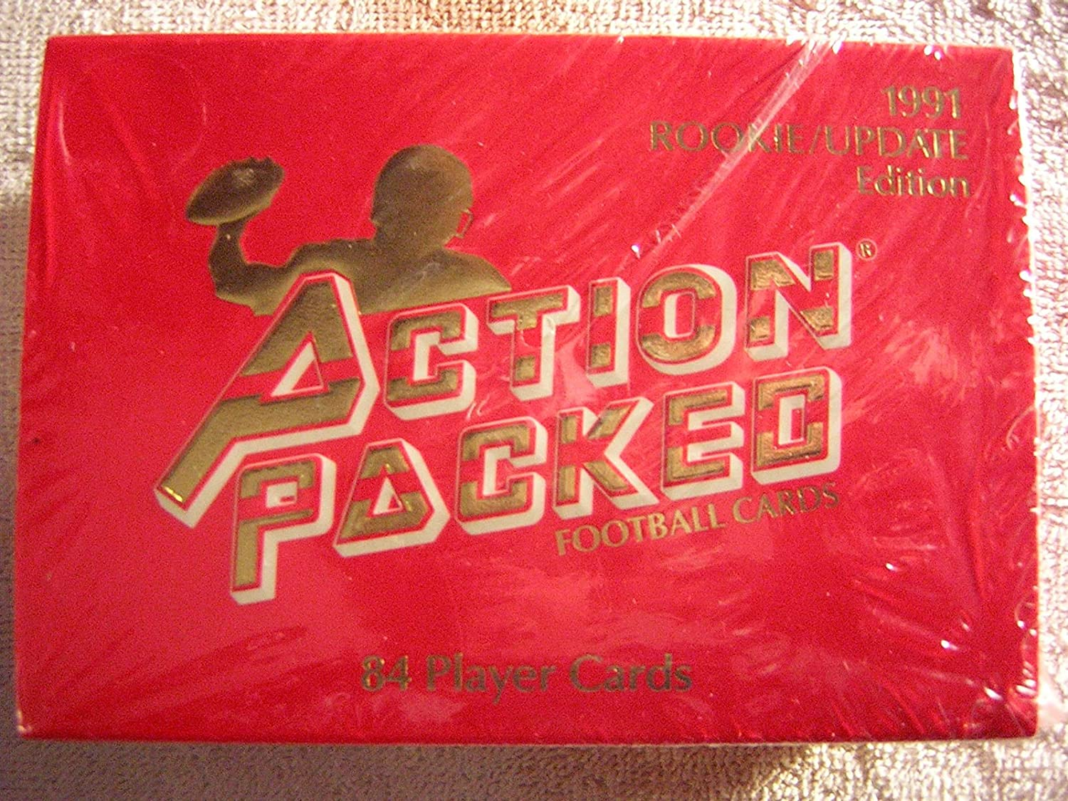 1991 Action Packed Football Rookie/Update Edition Full Box Set