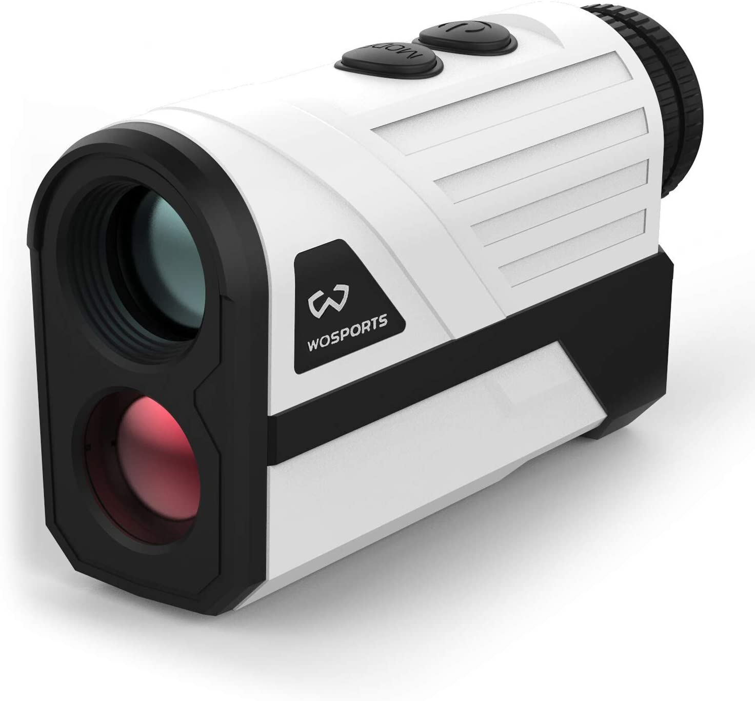 Wosports Golf Rangefinder, 650 Yards Laser Distance Finder with Slope, Flag-Lock with Vibration Distance/Speed/Angle Measurement, Upgraded Battery Cover