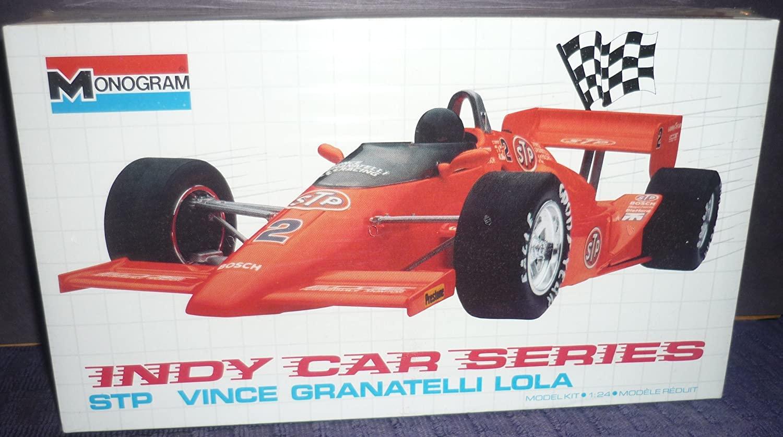 #2795 Monogram Indy Car Series STP Vince Granatelli Lola 1/24 Scale Plastic Model Kit