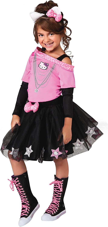 Hello Kitty Rockstar Costume, Child Small