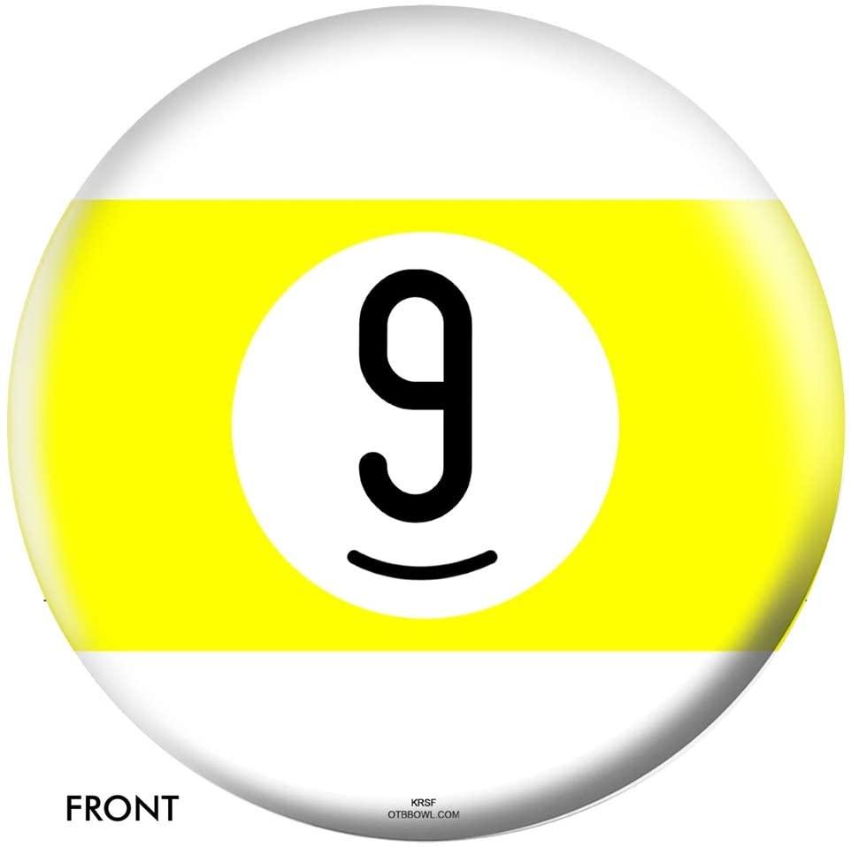 OTB Billiard Bowling Ball- 9 Ball 12lbs