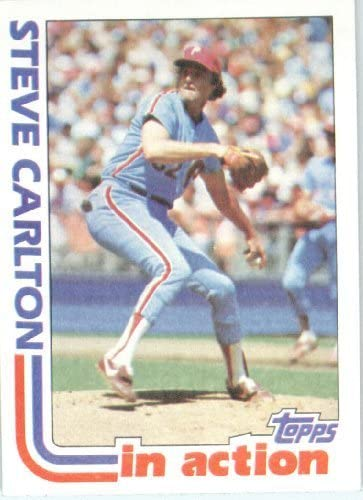 1982 Topps 481 Steve Carlton Near Mint or better