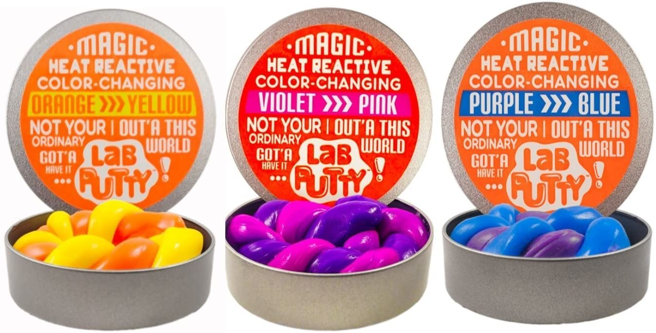 JaRu Lab Putty Assorted Color Changing Putty, 1 Count