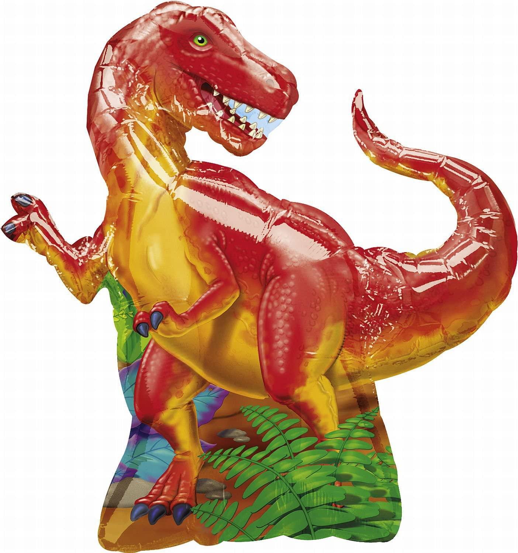 Anagram International 766401 Dinosaur Party Foil Balloon Pack, 31