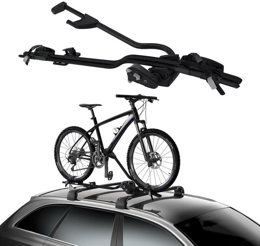 Chebay 1-Bike Bicycle Bike Rack Roof Mount Bicycle Carrier Rooftop Fits For Touareg 2011-2017