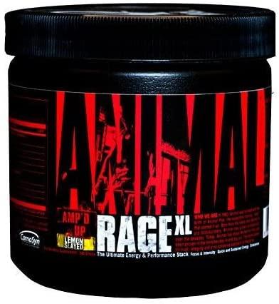 Universal Nutrition Animal Rage XL, Lemon Slayed