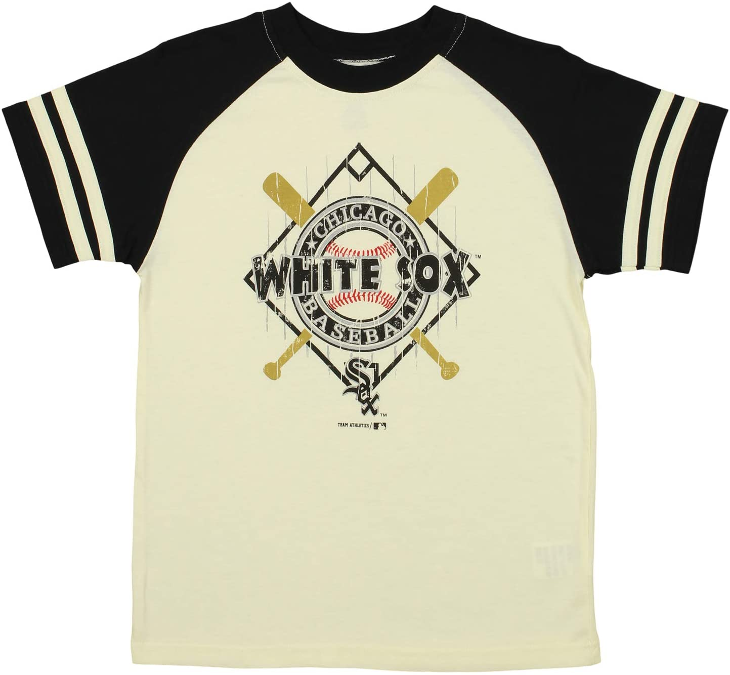 Outerstuff MLB Youths Chicago White Sox Diamond Short Sleeve Tee