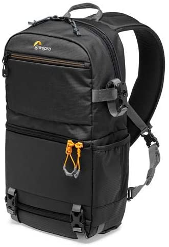 Lowepro Slingshot SL 250 AW III Travel-Ready Backpack for DSLR Camera, Photo Gear, Drones and Laptop, Black