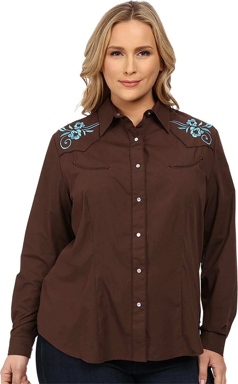 Roper Solid Broad Cloth - Dark Brown Karman Special Styles