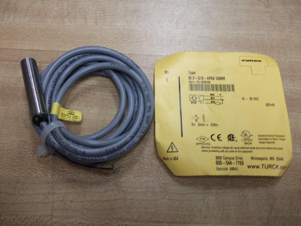 Turck BI2-G12-AP6X Proximity Sensor T31897