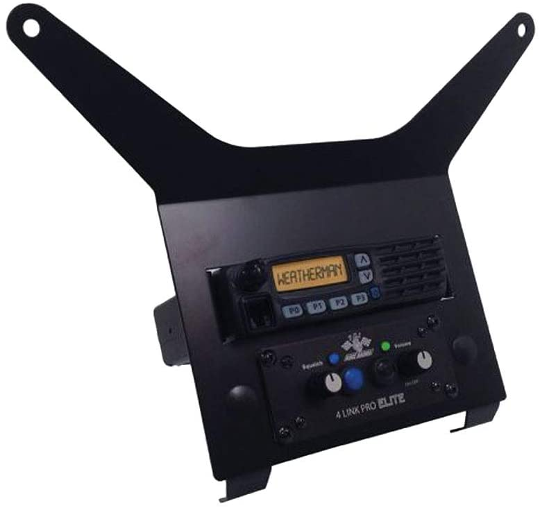 PCI Storage Box Mounting Bracket For Intercom And ICOM Mobile Race Radio On Polaris RZR 1000 XP