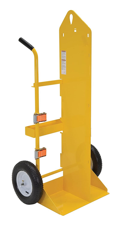 Vestil CYL-EH Steel Torch Cart Lift Eye Pneumatic Wheel, 23