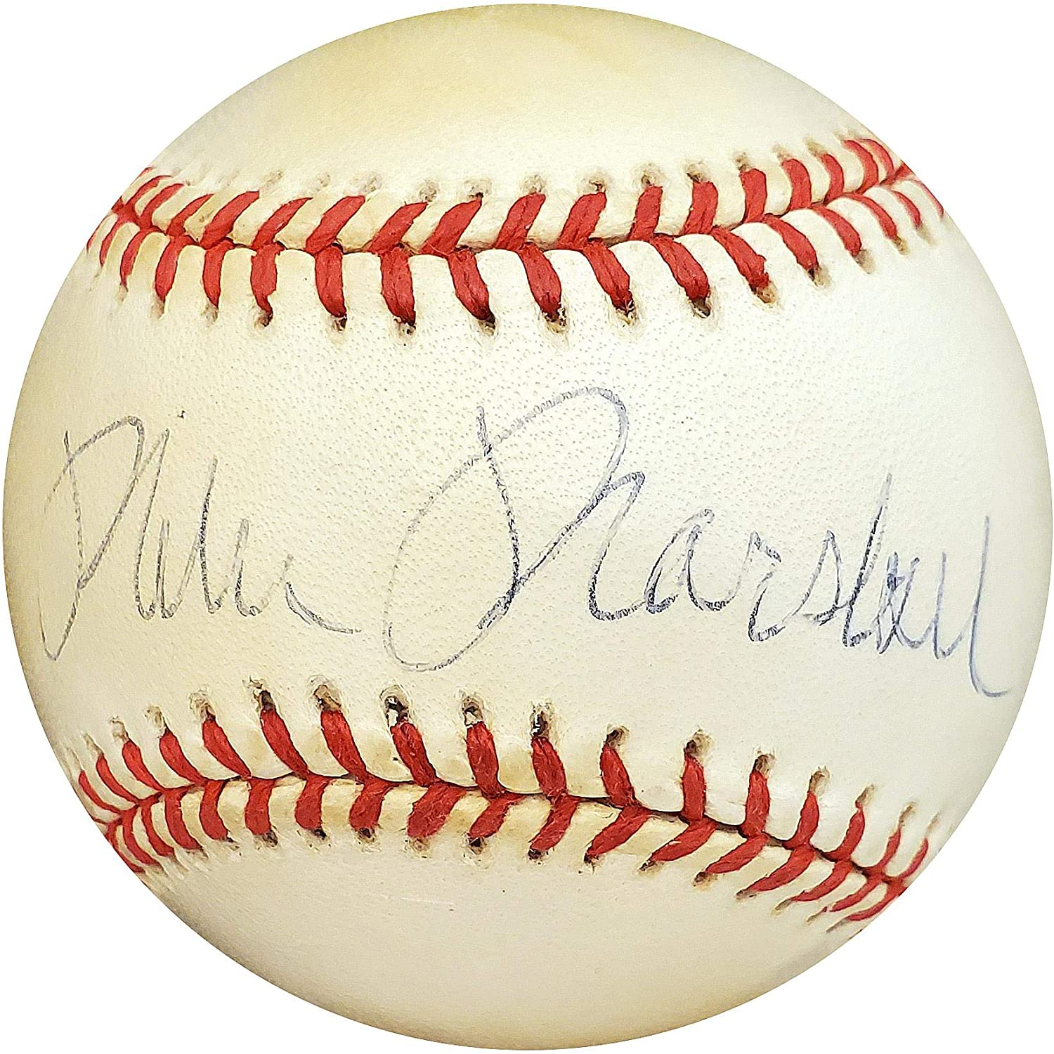 Mike Marshall Signed Ball - Dr Official AL #B14182 - JSA Certified - Autographed Baseballs