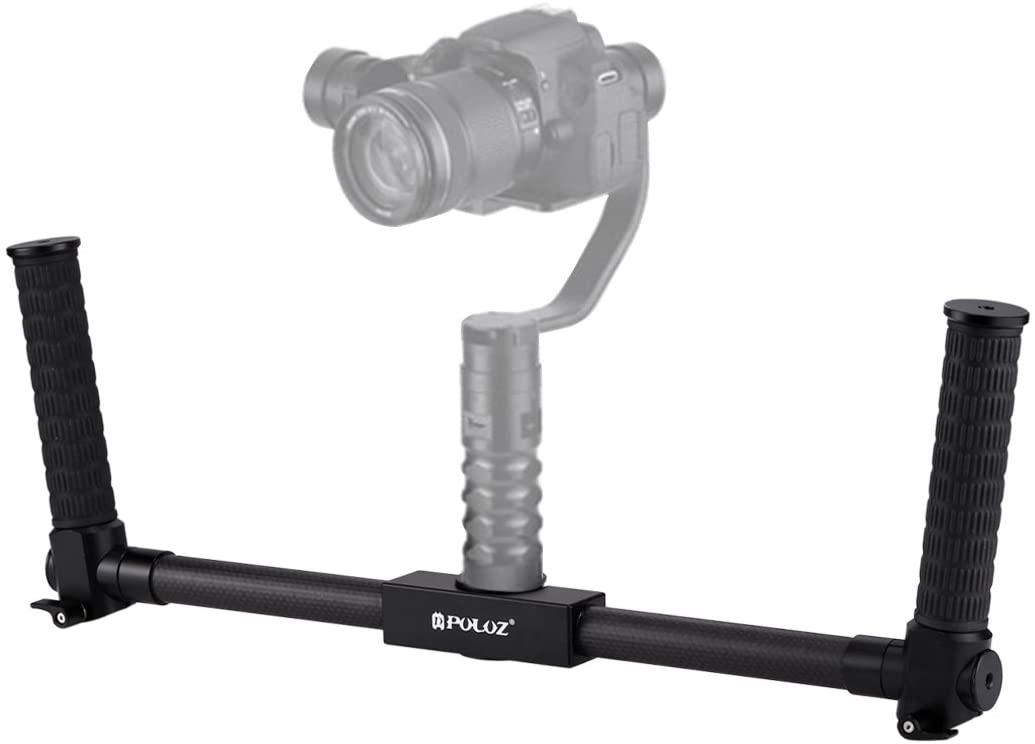 ZQ House Dual Handheld Grip Aluminum Tube Stabilizer