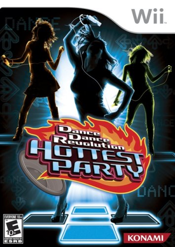 Dance Dance Revolution Hottest Party - Software Only - Nintendo Wii