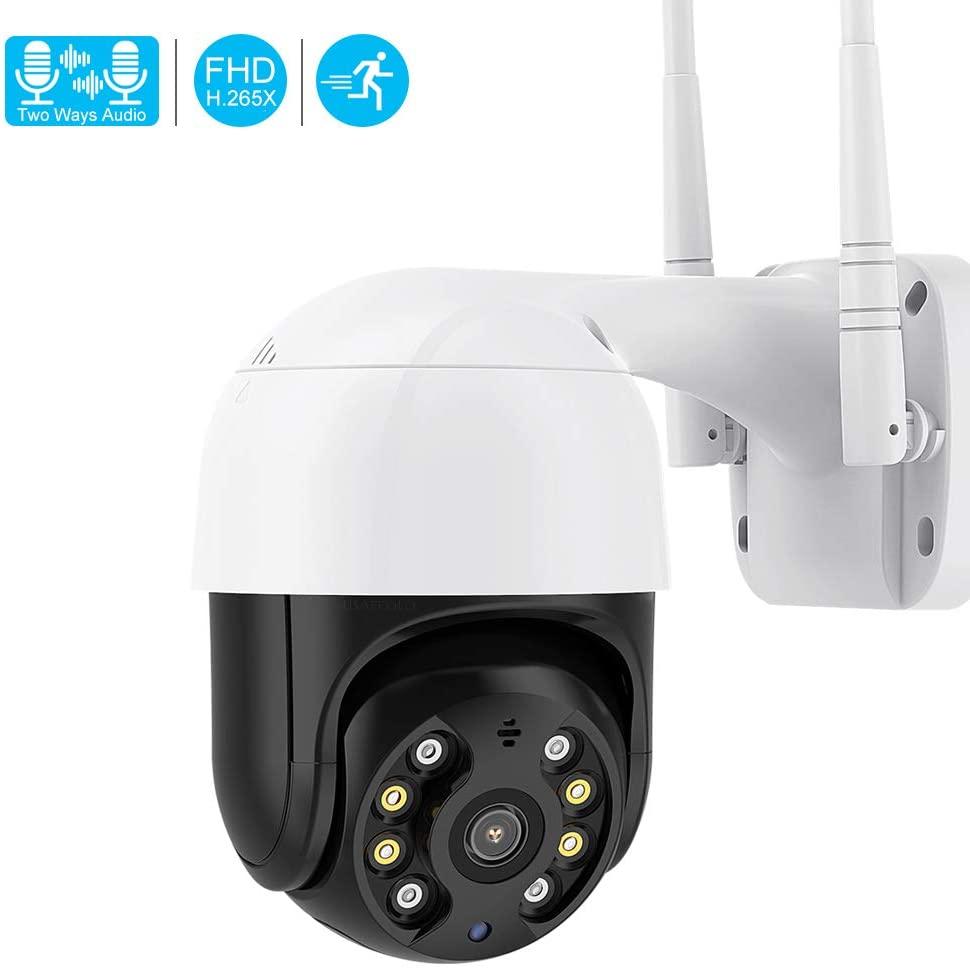 WiFi 1080P Mini WiFi Camera Surveillance exter Security Camera Humain Detection AI Camera 1ch Size Camera WiFi onvif sd Card (Camera32)