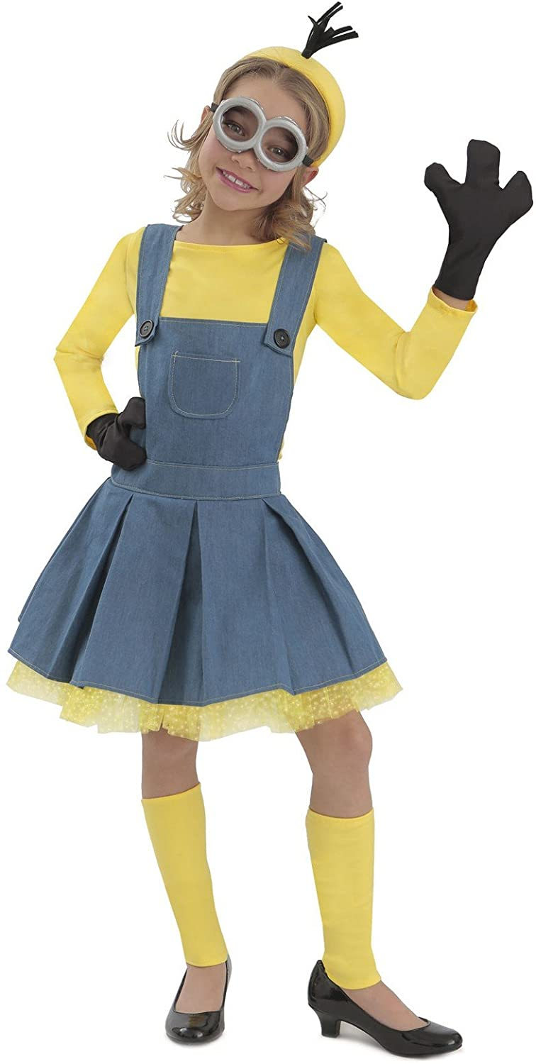 Minions Girl Kids Costume - Medium