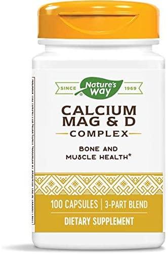 Nature's Way Calcium–Magnesium–Vitamin D (Packaging May Vary)