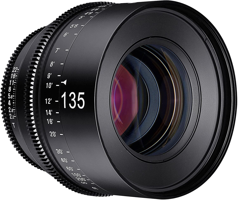 Rokinon Xeen 135mm T2.2 Professional Cine Lens for PL Mount - PL